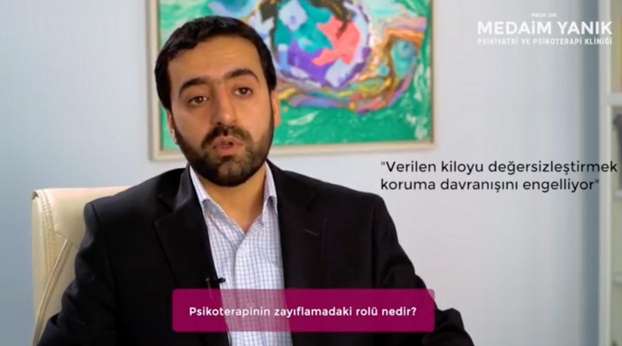 PSİKOTERAPİNİN ZAYIFLAMADAKİ ROLÜ NEDİR? (VİDEO)